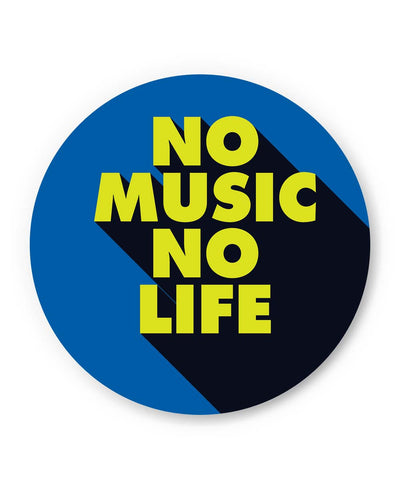 PosterGuy | No Music No Life Fridge Magnet 1014218319 Online India