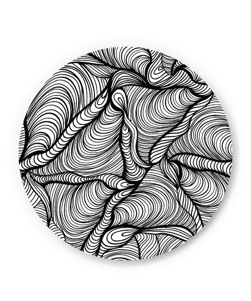 PosterGuy | Fascinating Line Art Fridge Magnet Online India by Mayank Dhawan