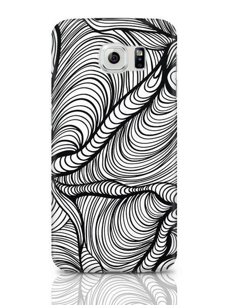Samsung Galaxy S6 Covers & Cases | Fascinating Line Art Samsung Galaxy S6 Covers & Cases Online India