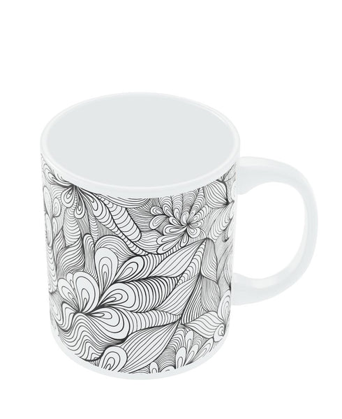 Coffee Mugs Online | The Unknown Fantasy Line Art Mug Online India