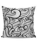 PosterGuy | The Bold Illusion Line Art Cushion Cover Online India
