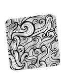 Buy Coasters Online | The Bold Illusion Line Art Coaster Online India | PosterGuy.in