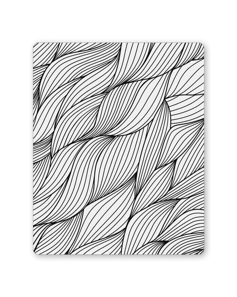 Buy Mousepads Online India | Dream's Swirl Line Art Mouse Pad Online India