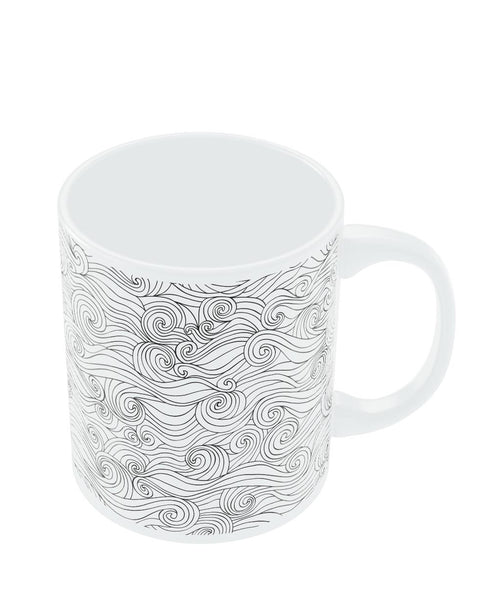 Coffee Mugs Online | Adamant Braids Line Art Mug Online India