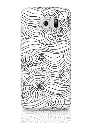 Samsung Galaxy S6 Covers & Cases | Adamant Braids Line Art Samsung Galaxy S6 Covers & Cases Online India