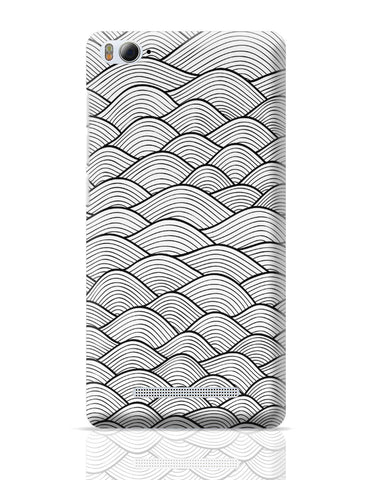 Xiaomi Mi 4i Covers | The Waves of Heaven Line Art Xiaomi Mi 4i Cover Online India