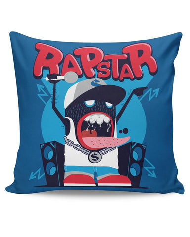 PosterGuy | Rapstar Quirky Illustration Cushion Cover Online India