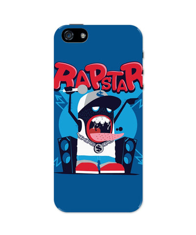 iPhone 5 / 5S Cases & Covers | Rapstar Quirky Illustration iPhone 5 / 5S Case Online India