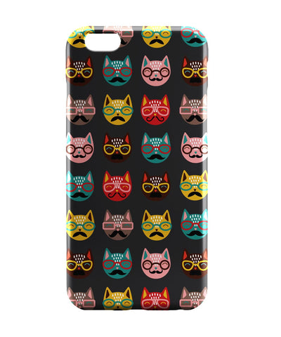 iPhone 6 Case & iPhone 6S Case | Quirky Moustache Cats Pattern iPhone 6 | iPhone 6S Case Online India | PosterGuy