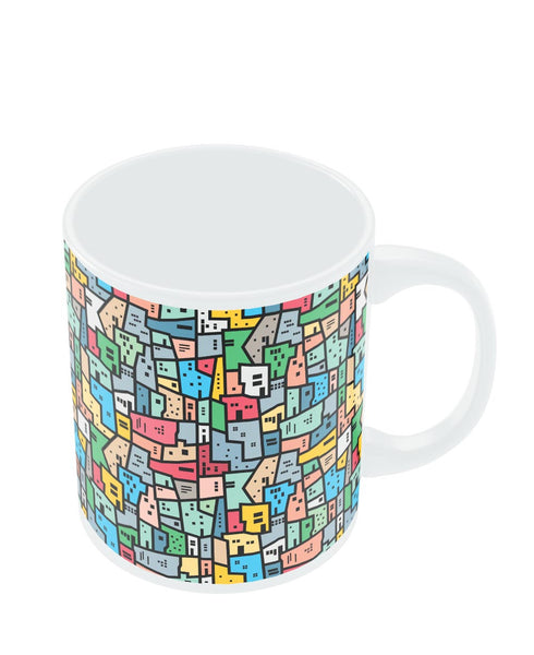 Coffee Mugs Online | Mosaic City Circuit Mug Online India