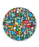 PosterGuy | Mosaic City Circuit Fridge Magnet Online India by Mayank Dhawan