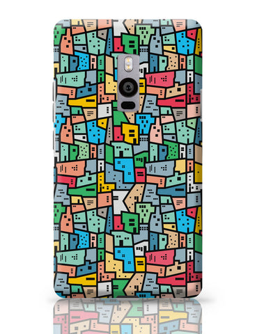OnePlus Two Covers | Mosaic City Circuit OnePlus Two Cover Online India