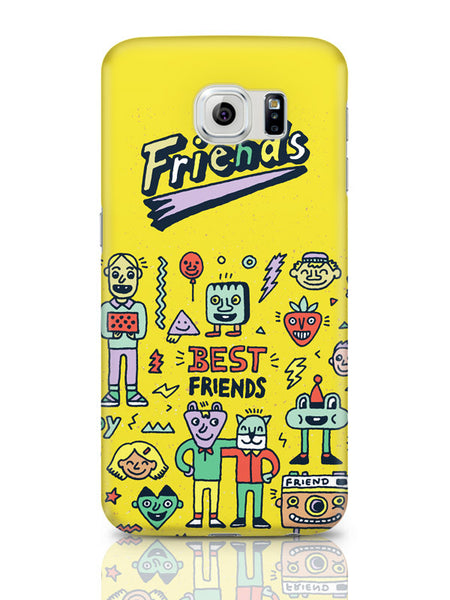 Samsung Galaxy S6 Covers & Cases | Friends Doodle Illustration Samsung Galaxy S6 Covers & Cases Online India
