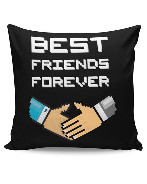 PosterGuy | Best Friends Forever Pixel Art Cushion Cover Online India
