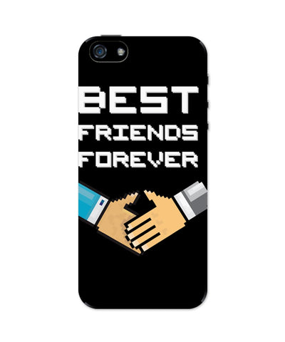 iPhone 5 / 5S Cases & Covers | Best Friends Forever Pixel Art iPhone 5 / 5S Case Online India