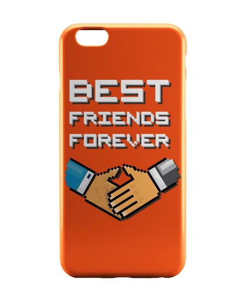 iPhone 6 Case & iPhone 6S Case | Best Friends Forever Pixel Art (Orange) iPhone 6 | iPhone 6S Case Online India | PosterGuy