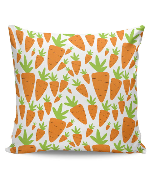 PosterGuy | Carrots Pattern Cushion Cover Online India