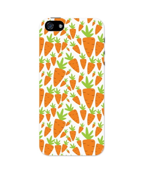 iPhone 5 / 5S Cases & Covers | Carrots Pattern iPhone 5 / 5S Case Online India