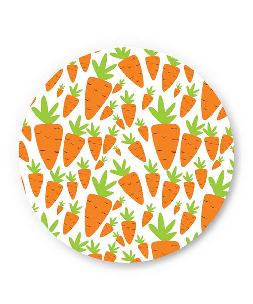 PosterGuy | Carrots Pattern Fridge Magnet Online India by Mayank Dhawan