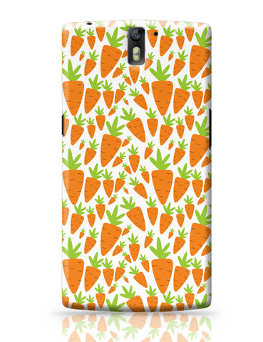 OnePlus One Covers | Carrots Pattern OnePlus One Covers Online India