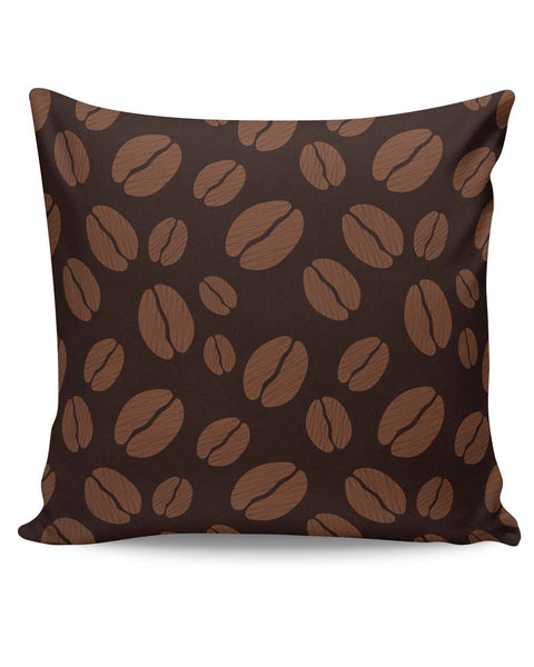 PosterGuy | Coffee Beans Pattern Cushion Cover Online India