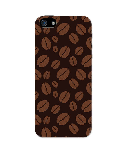iPhone 5 / 5S Cases & Covers | Coffee Beans Pattern iPhone 5 / 5S Case Online India