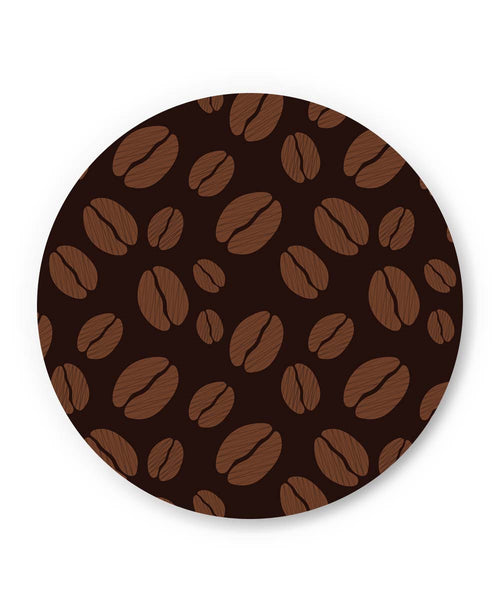 PosterGuy | Coffee Beans Pattern Fridge Magnet Online India by Mayank Dhawan