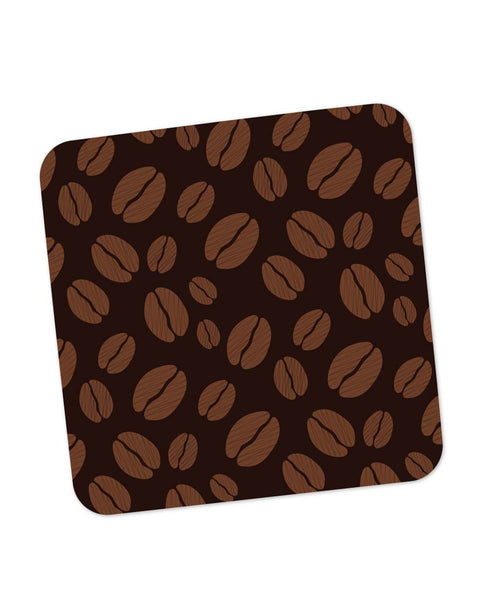 Buy Coasters Online | Coffee Beans Pattern Coaster Online India | PosterGuy.in