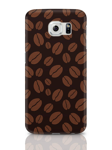 Samsung Galaxy S6 Covers & Cases | Coffee Beans Pattern Samsung Galaxy S6 Covers & Cases Online India