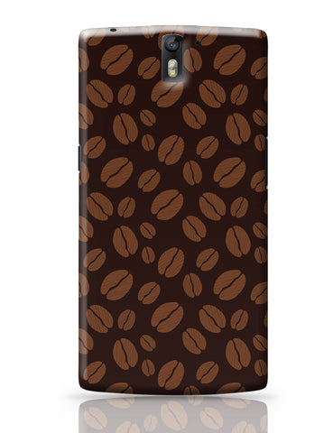 OnePlus One Covers | Coffee Beans Pattern OnePlus One Covers Online India