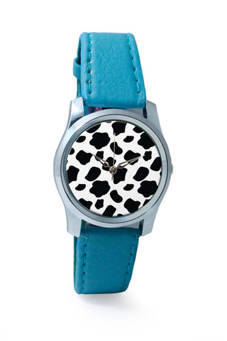 Women Wrist Watches India | Cow Moo Pattern Wrist Watch Online India
