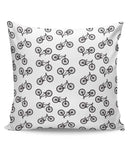 PosterGuy | Cycle Pattern Cushion Cover Online India