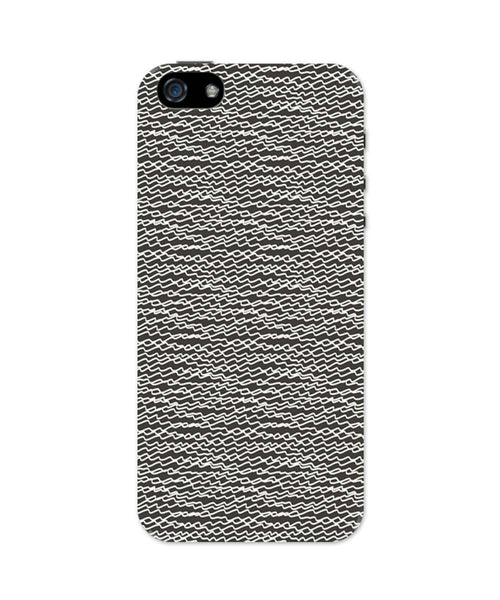 iPhone 5 / 5S Cases & Covers | Doodle Zig Zag iPhone 5 / 5S Case Online India