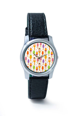 Women Wrist Watches India | Ice Cream Pattern Wrist Watch Online India