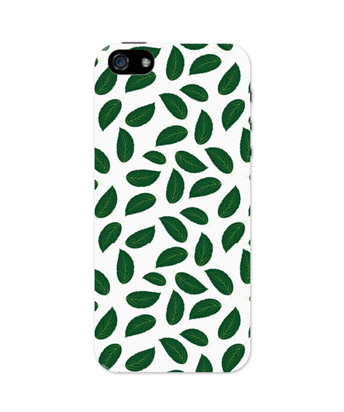 iPhone 5 / 5S Cases & Covers | Leaves Pattern iPhone 5 / 5S Case Online India