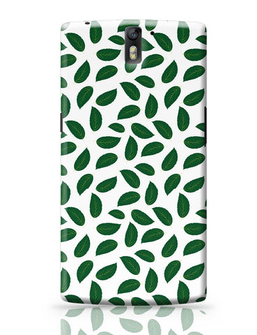 OnePlus One Covers | Leaves Pattern OnePlus One Covers Online India