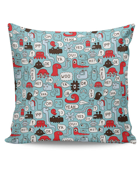 PosterGuy | Lingo Pattern Cushion Cover Online India