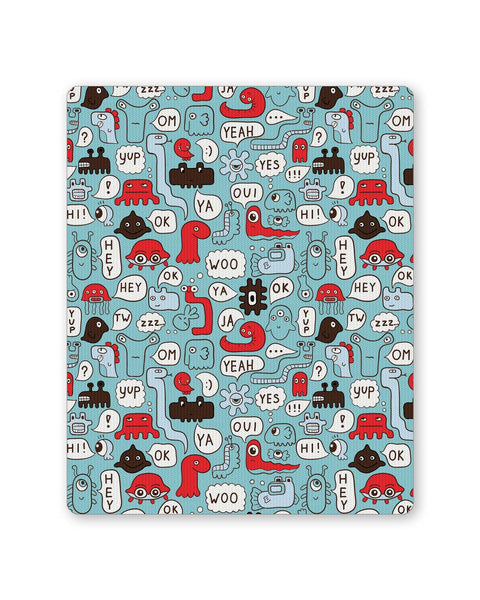 Buy Mousepads Online India | Lingo Pattern Mouse Pad Online India