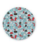 PosterGuy | Lingo Pattern Fridge Magnet Online India by Mayank Dhawan