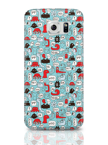 Samsung Galaxy S6 Covers & Cases | Lingo Pattern Samsung Galaxy S6 Covers & Cases Online India