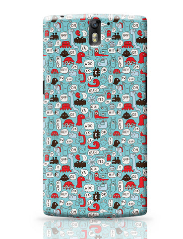 OnePlus One Covers | Lingo Pattern OnePlus One Covers Online India