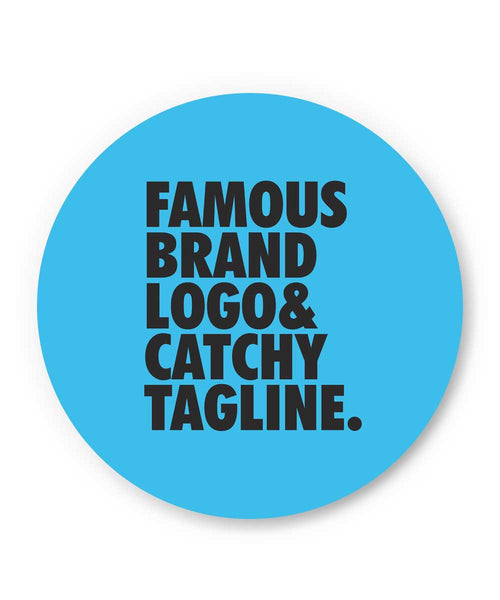 Famous Brand Logo Blue Fridge Magnet Online India