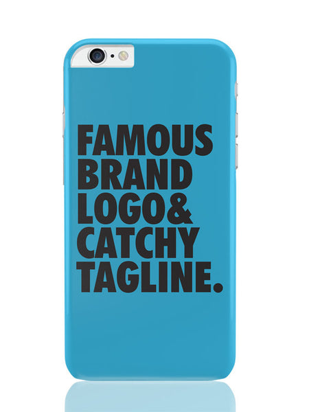 iPhone 6 Plus / 6S Plus Covers & Cases | Famous Brand Logo Blue iPhone 6 Plus / 6S Plus Covers and Cases Online India