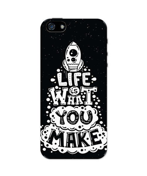 iPhone 5 / 5S Cases & Covers | Life is What You Make iPhone 5 / 5S Case Online India