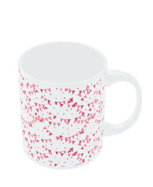 Coffee Mugs Online | Party Flyer Pattern Mug Online India