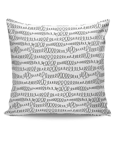 PosterGuy | Pen Doodle Swirls Cushion Cover Online India