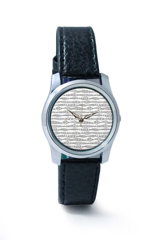 Women Wrist Watches India | Pen Doodle Swirls Wrist Watch Online India