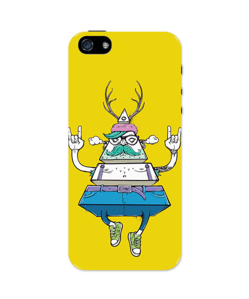 iPhone 5 / 5S Cases & Covers | Pyramid Theory iPhone 5 / 5S Case Online India