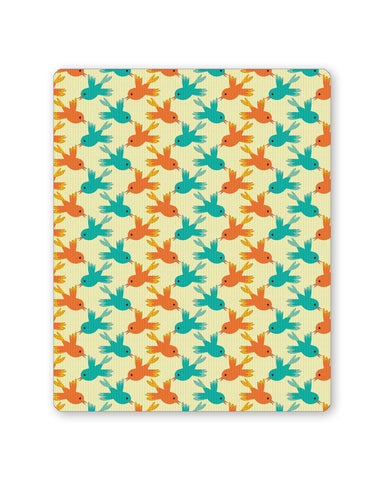 Buy Mousepads Online India | Vintage Birds Pattern Mouse Pad Online India