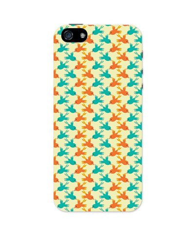iPhone 5 / 5S Cases & Covers | Vintage Birds Pattern iPhone 5 / 5S Case Online India